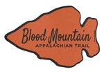 Blood Mountain Arrow Magnet