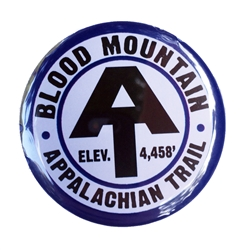 Blood Mountain Refrigerator Magnet