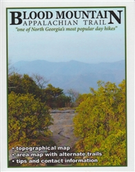 Blood Mountain Day Hike Map