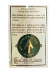 Appalachian Trail Georgia Walking Stick Medallion