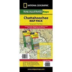 National Geographic Chattahoochee Map Pack