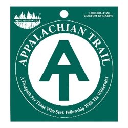 Appalachian Trail Monogram Decal