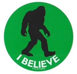 I Believe Sasquatch Sticker