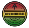 Appalachian Trail Rasta Sticker