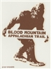 Sasquatch Appalachian Trail Sticker