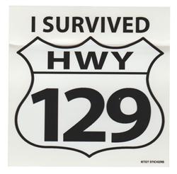 I Survived Sticker