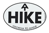 Oval Appalachian Trail Hike Sticker