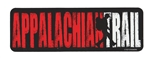 Red, Black and White Appalachian Trail Sticker