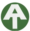 Green Appalachian Trail Logo Sticker
