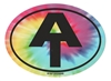 Tye Dye Appalachian Trail Oval Sticker