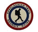 Appalachian Trail Georgia to Maine Bullseye Sticker