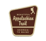 Appalachian Trail Trailhead Sign Sticker