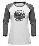 West Sierra 3/4 Baseball Tee