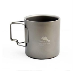 Toaks Titanium Cup Double Walled