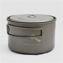 Toaks Titanium D130mm 900ml Pot