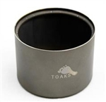 Toaks Alcohol Stove w/ Pot Stand