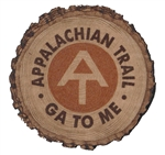 Appalachian Trail Wood Cut Magnet
