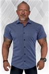 Aveda Elite Short Sleeve Dress Shirt