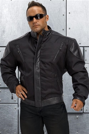 Daytona Hardcore Nylon/Leather Jacket