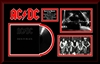 AC/DC Back in Black Album Collage Frm.