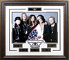 Aerosmith 16x20 w/Laser Signatures Framed