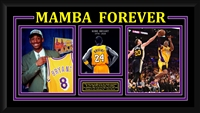 "Kobe Bryant ""Mamba Forever"" Limited Edition Collage Framed"