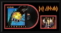 Def Leppard Pyromania Vinyl Album Collage Frm.