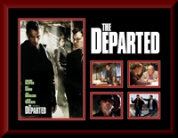 The Departed Movie Collage Framed