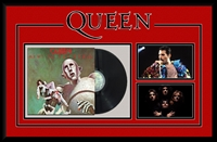 Queen News of the World Vinyl Album Collage