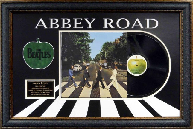 The Beatles Abbey Road Album Collage