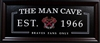 Atlanta Braves The Man Cave Sign