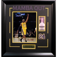Kobe Bryant Final Game 11x14 Framed