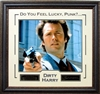 "Clint Eastwood ""Dirty Harry"" Framed"