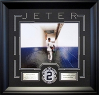 "Derek Jeter 11x14 ""Thank the Good Lord"" Tunnel"