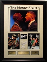 "Mayweather McGregor ""The Money Fight"" Collage"