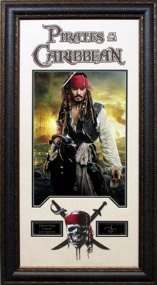 Pirates of the Caribbean Framed Johnny Depp