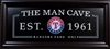 Texas Rangers The Man Cave Sign
