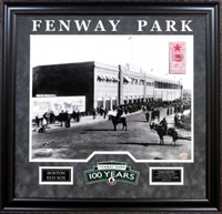 "Fenway Park ""Opening Day1912"" 16x20 Framed w/logo Boston Red Sox"