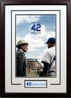 42 Jackie Robinson Mini Movie Poster