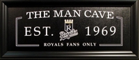 Kansas City Royals The Man Cave Sign