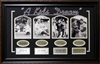 """A Kid's Dream"" 4 photo collage of New York Yankee Legends w/kids"