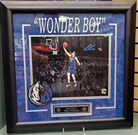 "Luka Doncic Signed 11x14 ""Wonder Boy"" Collage Framed"