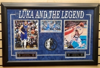 Luka & the Legend Dual-Signed Collage Framed