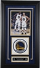 Kevin Durant and Steph Curry 8x10 with Logo Framed