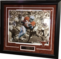 Earl Campbell Signed Texas 16x20 Framed