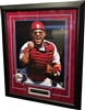 "Ivan ""Pudge"" Rodriguez Signed 16x20 Framed"