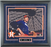 Nolan Ryan Signed and Framed 16x20