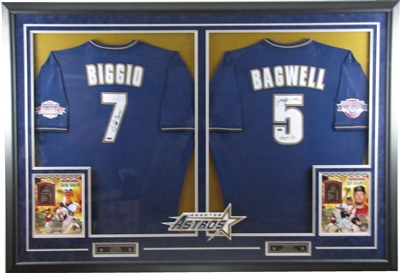 Custom Multiple Jersey Framing