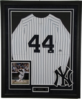 Reggie Jackson Signed and Framed Jersey