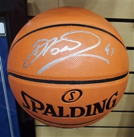 Dirk Nowitzki Signed NBA Basketball